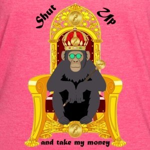 Bitcoin Monkey King - Shut Up And Take My Money - Women's Vintage Sport T-Shirt