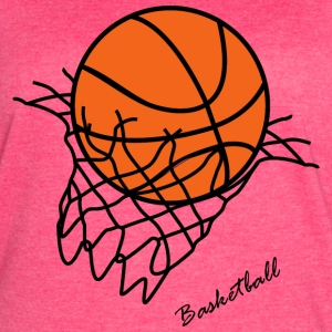 Basket ball - Women's Vintage Sport T-Shirt