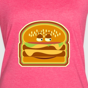 Happy Cheeseburger Pal - Women's Vintage Sport T-Shirt
