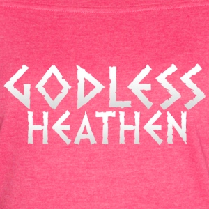 Godless heathen large and white - Women's Vintage Sport T-Shirt
