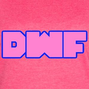 DeWarioFreak (DWF) Logo (pink) - Women's Vintage Sport T-Shirt
