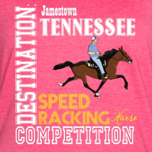 Destination: Jamestown Speed Racking Horse Racing - Women's Vintage Sport T-Shirt