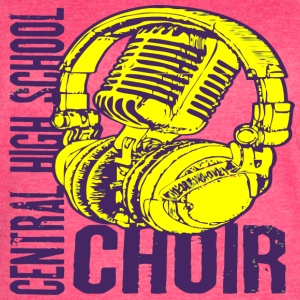 Central High School Choir - Women's Vintage Sport T-Shirt
