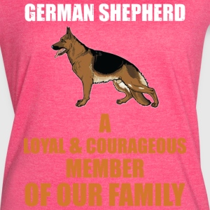 The German Shepherd - Women's Vintage Sport T-Shirt