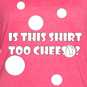 Is This Shirt Too Cheesy? - Women's Vintage Sport T-Shirt