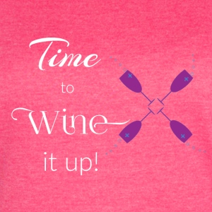 Time to Wine - Women's Vintage Sport T-Shirt
