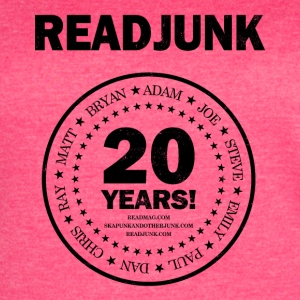 ReadJunk.com 20th Anniversary (black) - Women's Vintage Sport T-Shirt