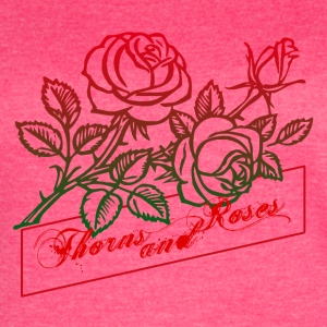 Thorns and Roses - Women's Vintage Sport T-Shirt