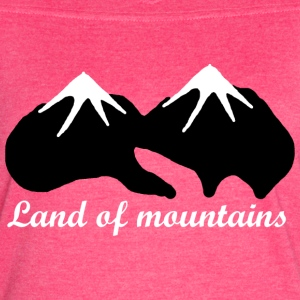 Land of mountains - Women's Vintage Sport T-Shirt