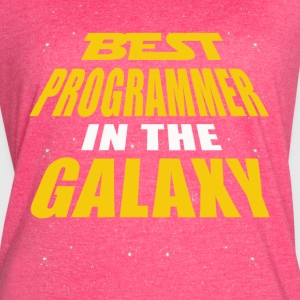 Best Programmer In The Galaxy - Women's Vintage Sport T-Shirt
