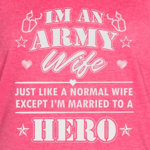 Army Wife - Women's Vintage Sport T-Shirt