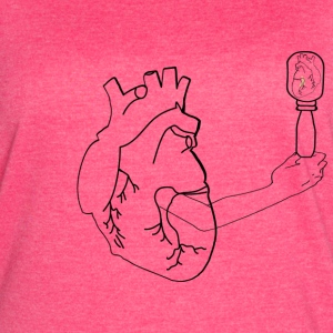 Wounded Heart - Women's Vintage Sport T-Shirt