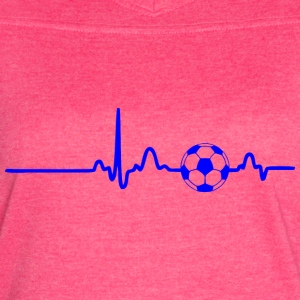 EKG HEARTBEAT BALL blue - Women's Vintage Sport T-Shirt