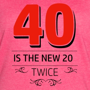 40 years and increasing in value - Women's Vintage Sport T-Shirt