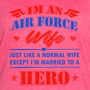 Airforce Wife - Women's Vintage Sport T-Shirt