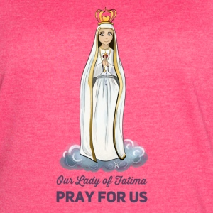 Our lady of Fatima - Women's Vintage Sport T-Shirt