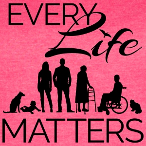 Every Life Matters - Women's Vintage Sport T-Shirt