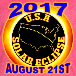 2017 USA Total Solar Eclipse Star Gaze August 21st - Women's Vintage Sport T-Shirt