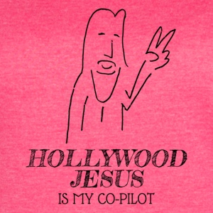 Hollywood Jesus Vertical - Women's Vintage Sport T-Shirt