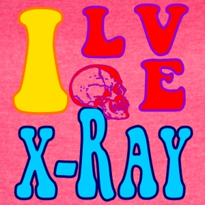 I Love X-Ray - Women's Vintage Sport T-Shirt