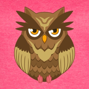 Brown Owl - Women's Vintage Sport T-Shirt