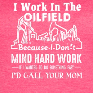 Oilfield Shirts Oil Field Tee Shirt - Women's Vintage Sport T-Shirt