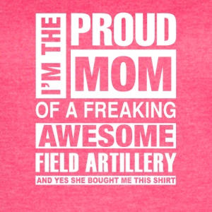 I'm the pround mom of a freaking awesome - Women's Vintage Sport T-Shirt