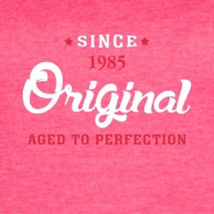 Since 1985 Original Aged To Perfection - Women's Vintage Sport T-Shirt