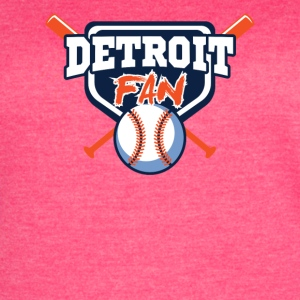 detroit fan shirt - Women's Vintage Sport T-Shirt