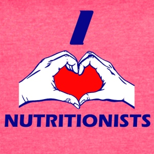 NUTRITIONIST DESIGN - Women's Vintage Sport T-Shirt