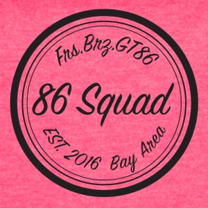 86 Squad Badge - Women's Vintage Sport T-Shirt