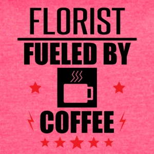 Florist Fueled By Coffee - Women's Vintage Sport T-Shirt