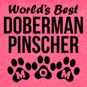 World's Best Doberman Pinscher Mom - Women's Vintage Sport T-Shirt