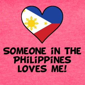 Someone In the Philippines Loves Me - Women's Vintage Sport T-Shirt