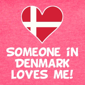 Someone In Denmark Loves Me - Women's Vintage Sport T-Shirt