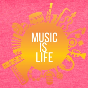 Music is life - Women's Vintage Sport T-Shirt