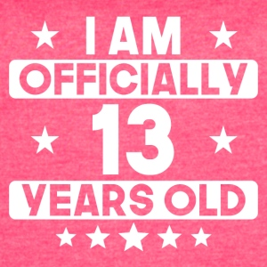 I Am Officially 13 Years Old 13th Birthday - Women's Vintage Sport T-Shirt