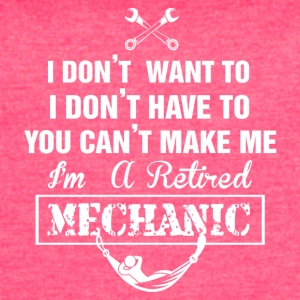 MECHANIC TSHIRT - Women's Vintage Sport T-Shirt