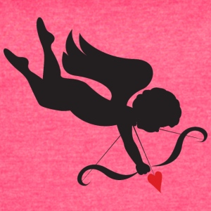 amour-heart-valentines-day-cupid-love - Women's Vintage Sport T-Shirt
