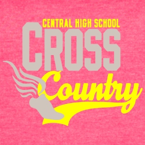 Central High School Cross Countrya - Women's Vintage Sport T-Shirt
