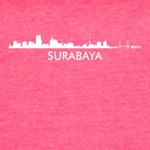 Surabaya Indonesia Skyline - Women's Vintage Sport T-Shirt