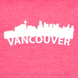 Arc Skyline Of Vancouver British Columbia Canada - Women's Vintage Sport T-Shirt