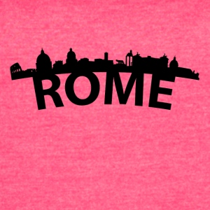 Arc Skyline Of Rome Italy - Women's Vintage Sport T-Shirt