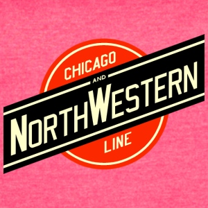 Chicago Northwestern - Women's Vintage Sport T-Shirt