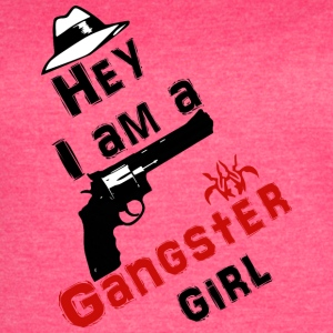 Ganster girl - Women's Vintage Sport T-Shirt