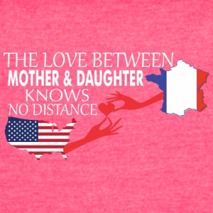 Mother & Daughter Knows No Distance US & France - Women's Vintage Sport T-Shirt