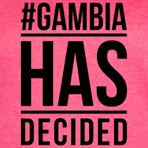 Gambia Has Decided - Women's Vintage Sport T-Shirt