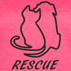 Rescue black - Women's Vintage Sport T-Shirt