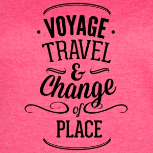 voyage_travel_ans_chnange_the_place-01 - Women's Vintage Sport T-Shirt