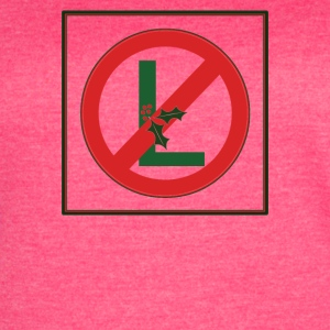 No L Christmas - Women's Vintage Sport T-Shirt